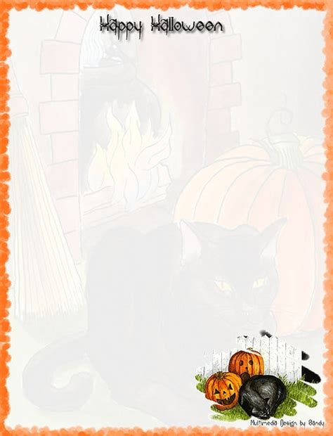 printable pumpkin stationery 17 best images about halloween stationery for print on