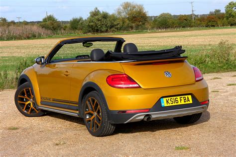 Volkswagen Cabrio Review by Volkswagen Beetle Dune Cabriolet Review 2016 Parkers