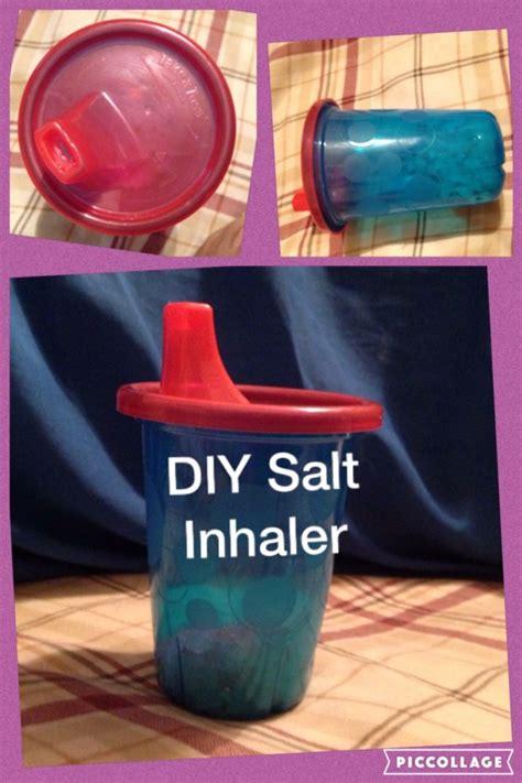 diy himalayan salt l how to make a homemade inhaler for asthma homemade ftempo