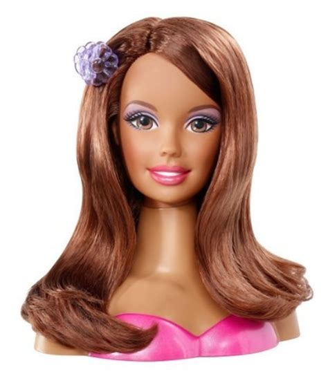 hair and makeup doll head toy 67 best barbie dolls images on pinterest barbie dolls