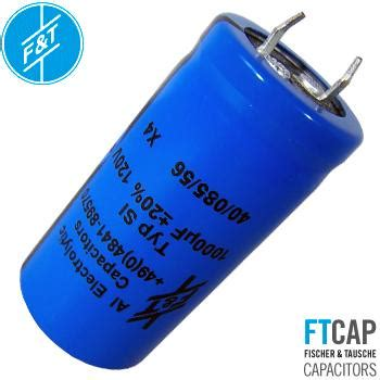 f t electrolytic type si radial capacitors hifi collective