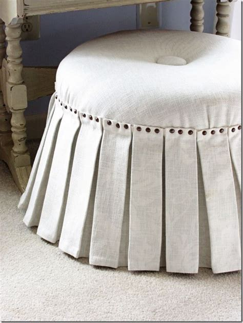 how to cover a round ottoman 25 best ideas about diy ottoman on pinterest