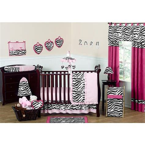 Pink And Zebra Crib Bedding Sweet Jojo Designs Zebra Pink Collection 11 Baby Crib Bedding Set Sweet Jojo Designs