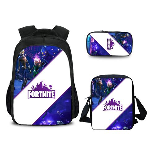 fortnite bag 16 fortnite backpack school bag combo baganime