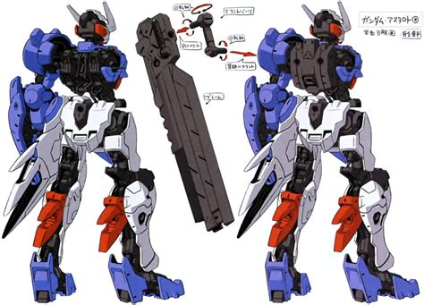 Gundam Iron Bloode Orphans Vual Gm Ibo Vual image gundam astaroth demolition knife mount png the