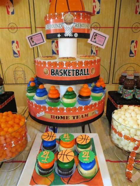 Nba Baby Shower Theme by Get Ready For March Madness With Basketball Ideas