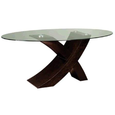 oval glass dining table amazon com xavier oval glass top dining table