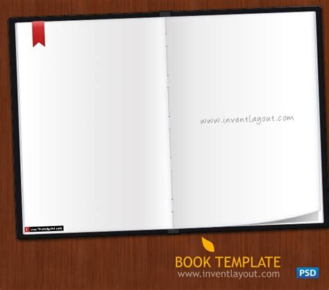 book template psd inventlayout com download free psd