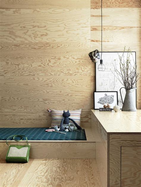 scandinavian home decor with rustic wooden interior theme
