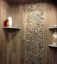 pebble tile shower floor lowes home design ideas