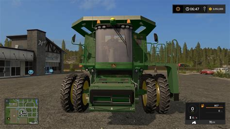 Deer Ls by Deere 9770 Mod For Farming Simulator 2017 Other