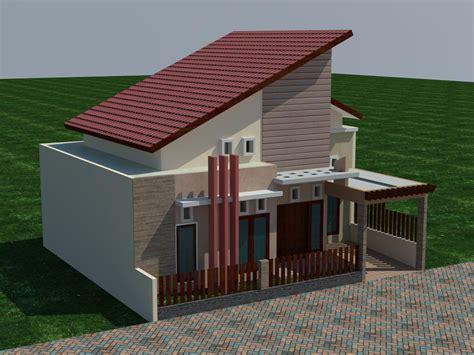 Rumah Di Lamongan model rumah minimalis modern 1 lantai di lamongan