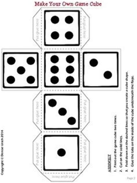 free printable editable dice free blank dice template for commercial or personal use