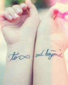 To Infinity And Beyond Friendship 40 Creative Best Friend Tattoos Hative