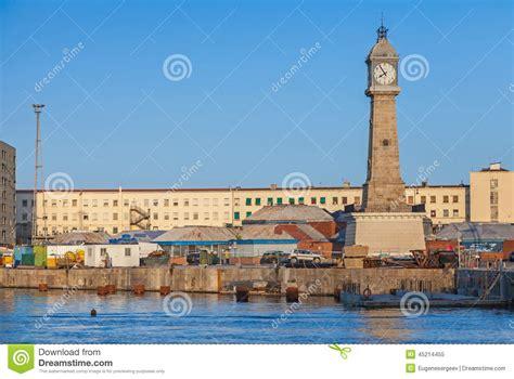 porto vecchio barcellona vecchio porto di barcellona spagna torre rellotge