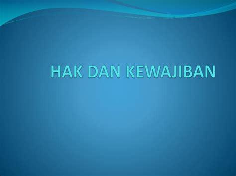 Salemba Empat Hak Dan Kewajiban ppt hak dan kewajiban powerpoint presentation id 3437895