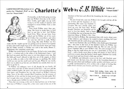charlottes web book report omnivoracious sixty years of quot s web quot