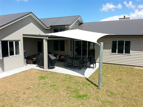 sail awnings for home residential john hewinson canvas whangarei