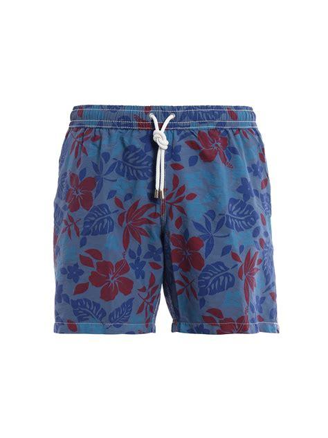 Print Swim Shorts floral print swim shorts by hartford swim shorts