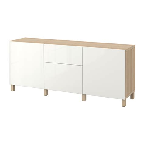 besta desk combination best 197 storage combination with drawers white stained oak
