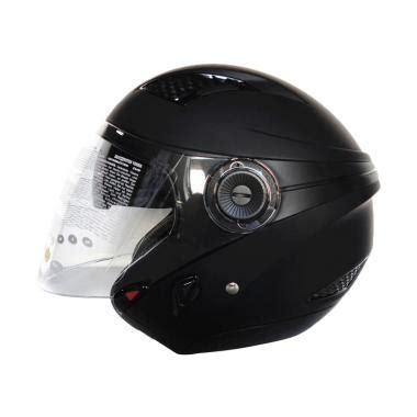 Helm Zeus Zs 610 Ungu jual zeus zs 610 helm half matt black harga kualitas terjamin blibli
