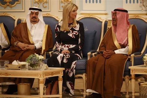 ap style countries apparently they really like ivanka in saudi arabia