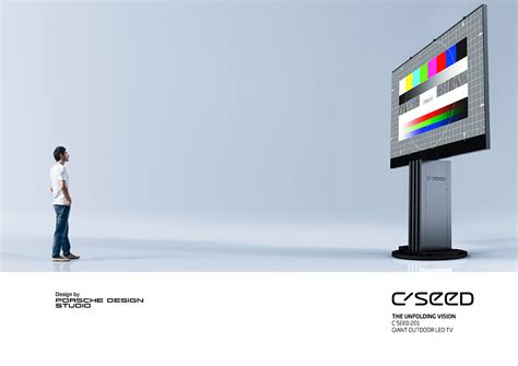 Porsche C Seed by C Seed 201inch Led Tv By Porsche Design Outdoor Hdtv