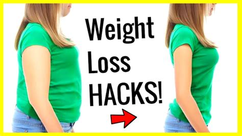 Weight Loss 10 Weight Loss Hacks To Lose Weight Fast And Easy