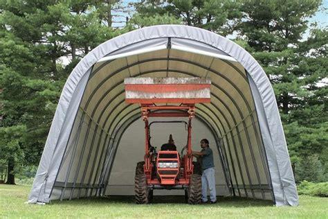 14 ft x 12 ft cer rv portable polyethylene garage