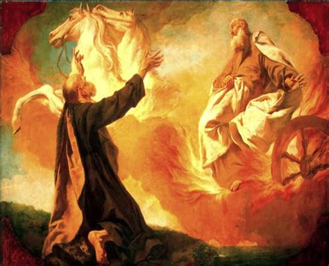 elijah and chariot of fire 2 kings 1 4