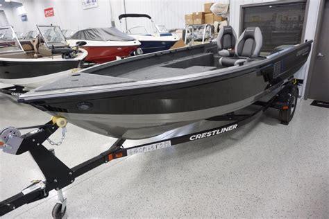 crestliner boats for sale wisconsin crestliner 1650 pro tiller boats for sale in wisconsin