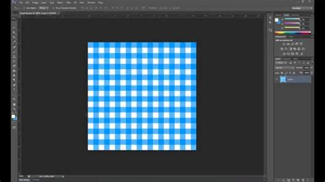 pattern photoshop youtube how to make a gingham pattern in photoshop youtube