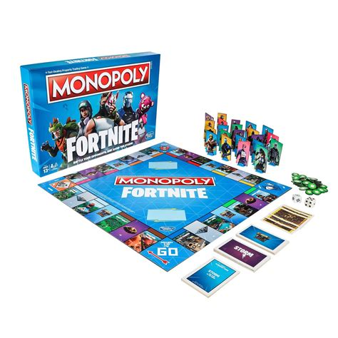 fortnite monopoly fortnite kicks its tabletop takeover with monopoly