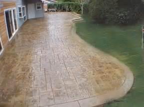 Ideas For Concrete Patios by Concrete Patio Pictures And Ideas