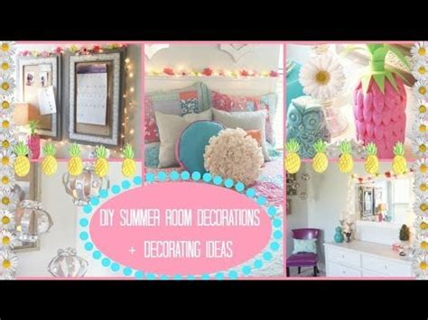 diy summer room decor diy summer room decorations ideas for decorating