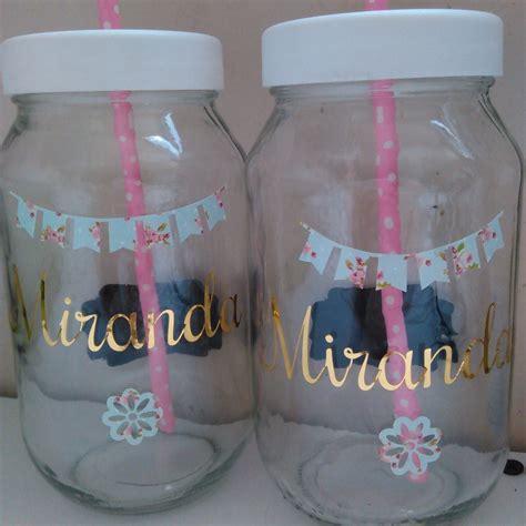 decorar vasos de mayonesa vasos tipo mason vasos de vidrio bs 800 00 en mercado