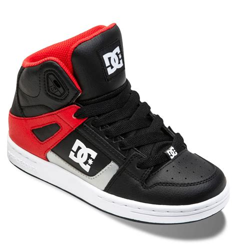 hightop shoes for boy s 4 7 rebound high top shoes 302676a dc shoes