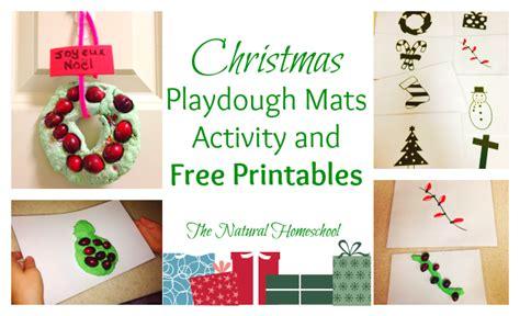 free printable christmas playdough mats free printable christmas playdough mats money saving mom 174
