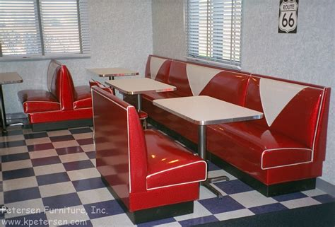 diner bench seating image gallery restaurant booths