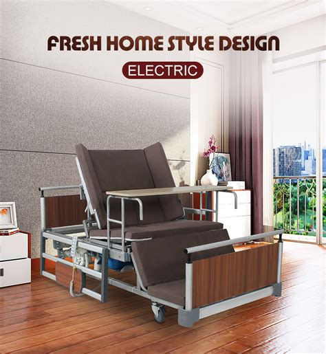electric automatic adjustable medical hospital beds