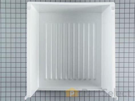 frigidaire upper crisper drawer cover frigidaire 5303288971 upper crisper drawer partselect