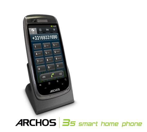 archos debuts android based 35 home connect and smart home
