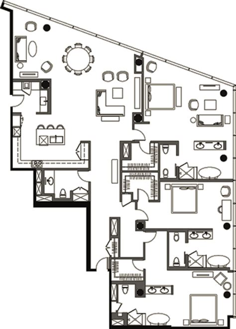 veer towers floor plans veer towers floor plan three bedroom penthouse vph 4
