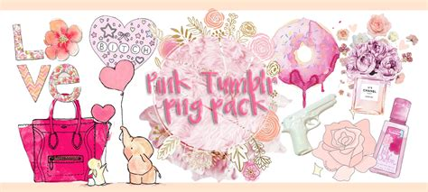 pack imagenes png tumblr pink tumblr png pack by xshawolvivipx on deviantart