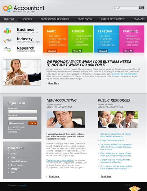 Joomla Accounting Template Accounting Website Joomla Template 27159