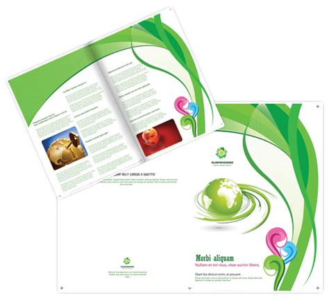 template monster brochure design trifolder templates to download for business