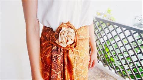 tutorial kain batik paola tambunan kain batik tutorial 7 styles in 1 batik youtube