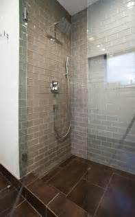 chagne glass subway tile shower tiles chagne and