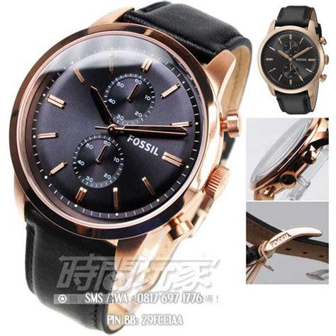 Promo Fossil Kulit Black 1 promo jam tangan pria elegan fossil fs5097 original