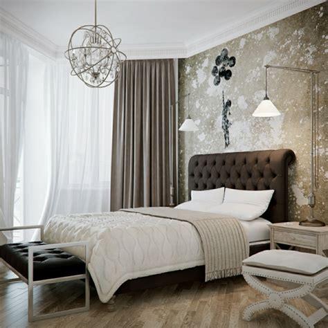 schlafzimmer dekorieren sparsam aber mit geschmack - Schlafzimmerwand Leuchter